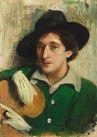 Winter 35 340px-Yury_Pen_-_Portrait_of_Marc_Chagall